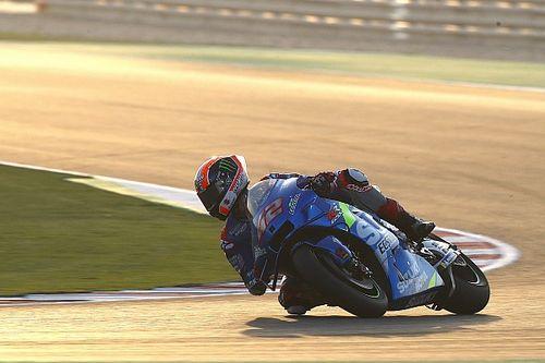 Rins lidera dobradinha da Suzuki no primeiro dia de testes da MotoGP no Catar