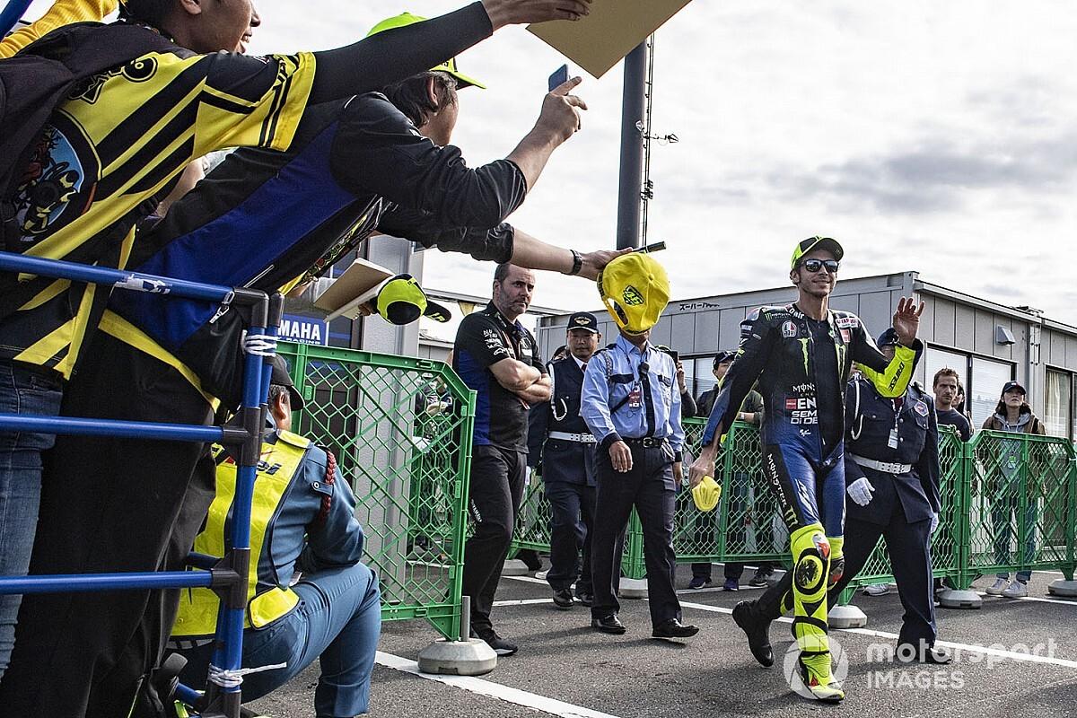 """Rossi: """"400 grandes premios no pesan si luchas por ganar"""""""