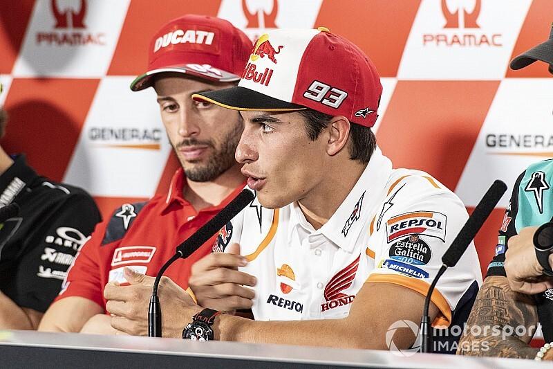 """Márquez risponde a Dovizioso: """"Interesse? Ho fatto il mio lavoro"""""""