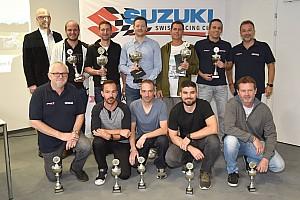 Suzuki continue plein gaz