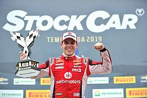 Bruno Baptista destaca duelos vencidos em 1º triunfo na Stock Car