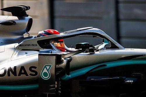 """Russell diz que não precisa de elogios e """"tapinhas nas costas"""" da Mercedes"""