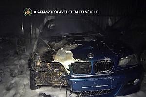 Videó: Több autó is kiégett vasárnap este Csepelen