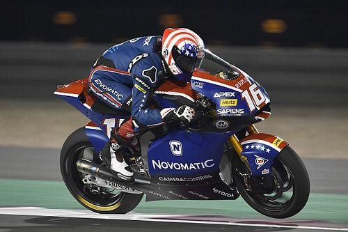 Katar Moto2: Roberts antrenmanların en hızlısı