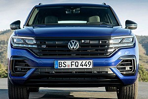 462 lóerős hibrid változatban is megmutatta magát a Volkswagen Touareg R