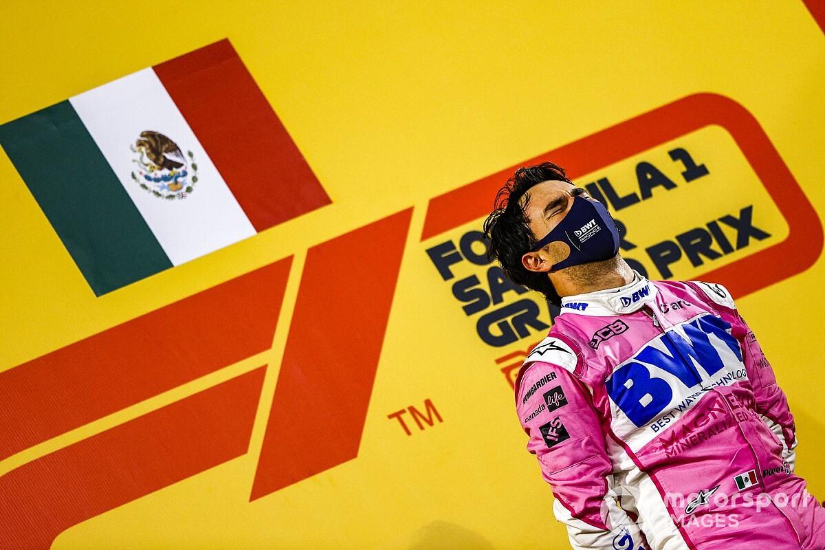 Red Bull'dan Marko da Perez'e tebrik mesajı göndermiş