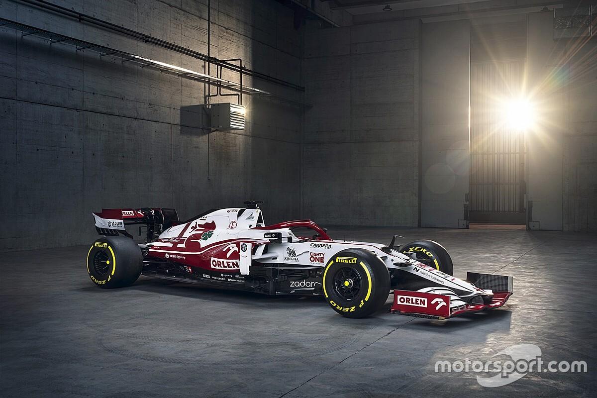 Alfa Romeo dévoile sa nouvelle F1 pour 2021 - Motorsport.com France