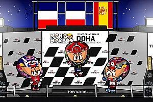 Vídeo: el resumen del GP de Doha de MotoGP por Minibikers