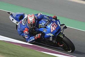 "Rins explains ""super scary"" Doha MotoGP save"