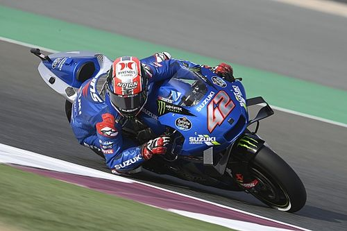 "Rins explains ""super-scary"" Doha MotoGP save"
