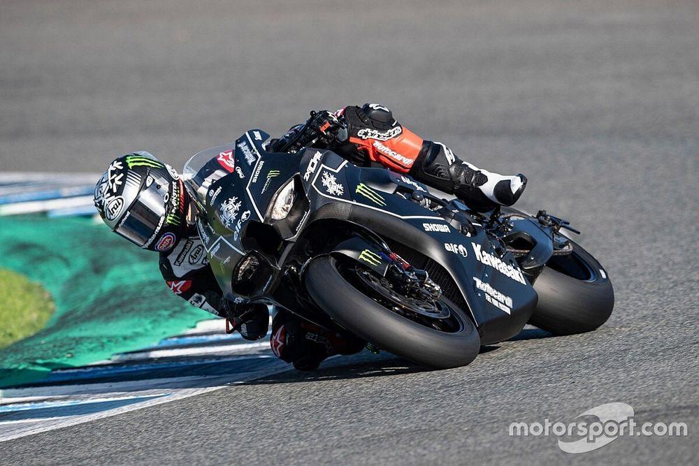 """Rea: """"Molto soddisfatto del primo test con la Kawasaki 2021"""""""
