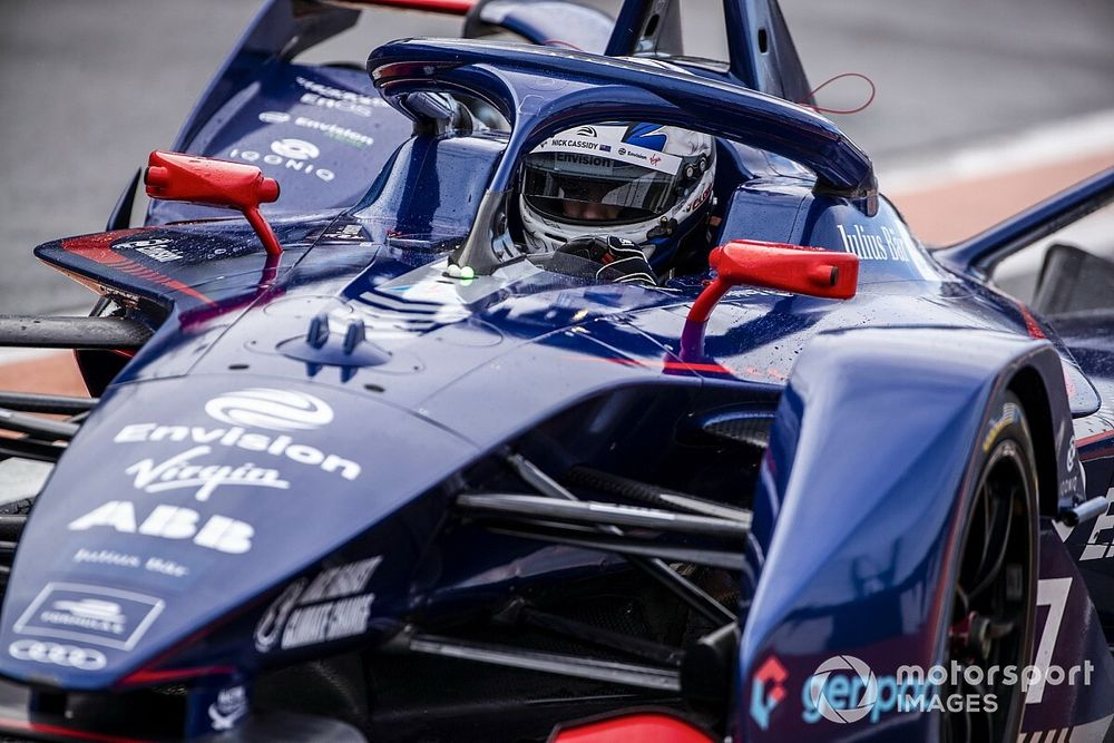"""Cassidy braced for """"tough times"""" in rookie Formula E season"""