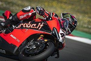 WSBK: la pinza con le alette Brembo sulla Ducati di Redding