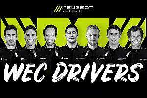 Vergne et Magnussen parmi les pilotes Peugeot Hypercar