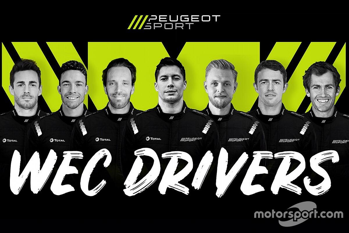 Peugeot, che squadrone nel WEC: Magnussen, Vergne e di Resta!