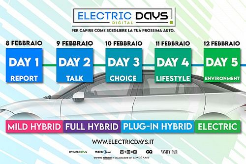 Electric Days Digital 2021, il programma completo dell'evento