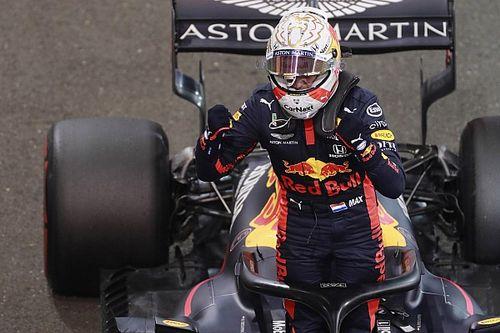Verstappen y su mano atrapada en la Q1 de Abu Dhabi