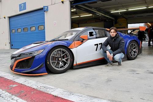 GT Italiano: Nova Race sceglie De Luca per la serie Sprint