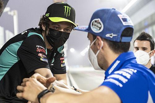 Rossi se va de Qatar vacunado y convencido de sus posibilidades