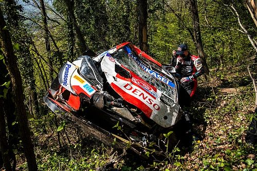 """WRC points leader Rovanpera """"super annoyed"""" after Rally Croatia crash"""
