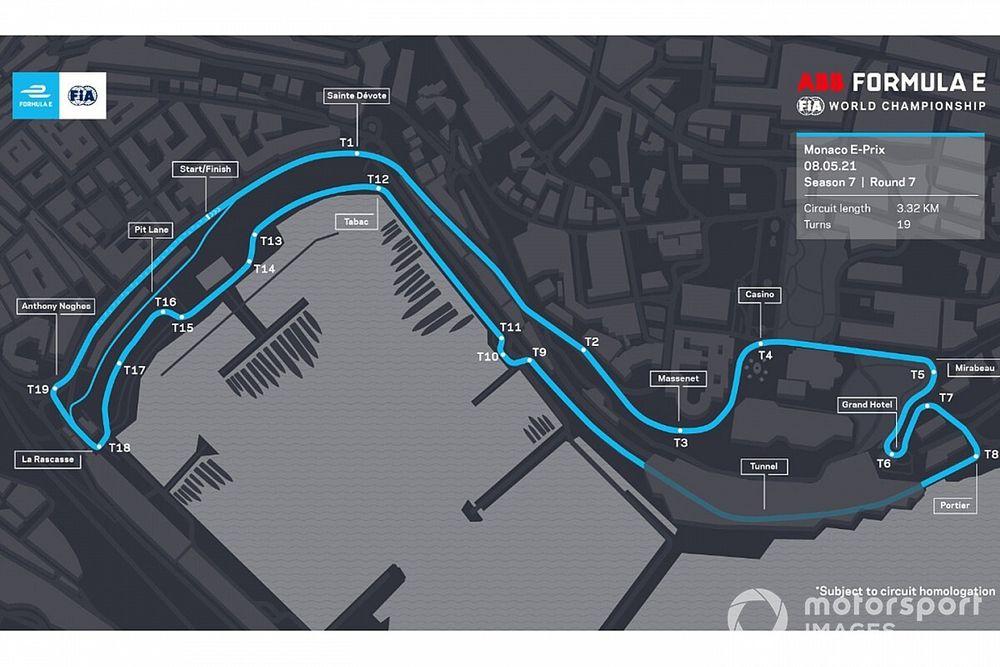 الفورمولا إي تتجه لاستعمال نسخة معدّلة من مسار حلبة موناكو للفورمولا واحد