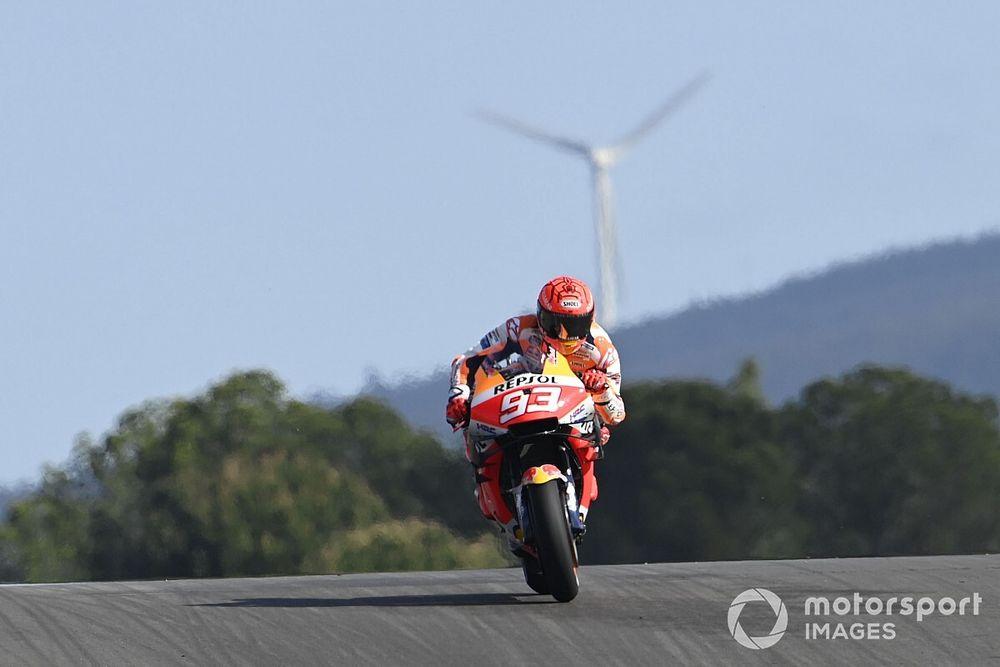Honda minimise la performance de Márquez en EL1