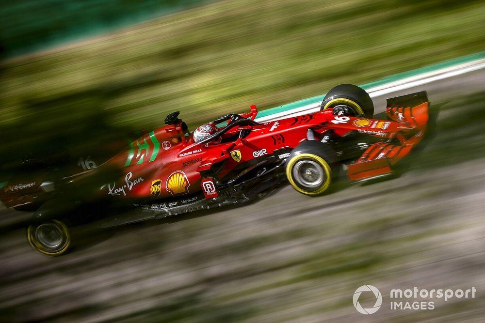 Leclerc czeka na sprinty