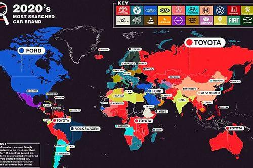 ¿Cuál es la marca de coches más buscada?