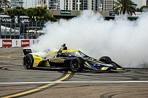 """Herta: Car did """"everything you want"""" in St. Petersburg IndyCar win"""