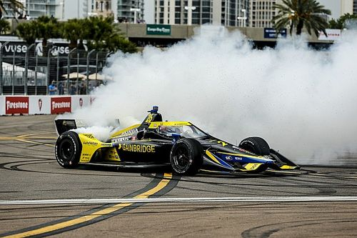 "Herta: Car did ""everything you want"" in St. Petersburg IndyCar win"