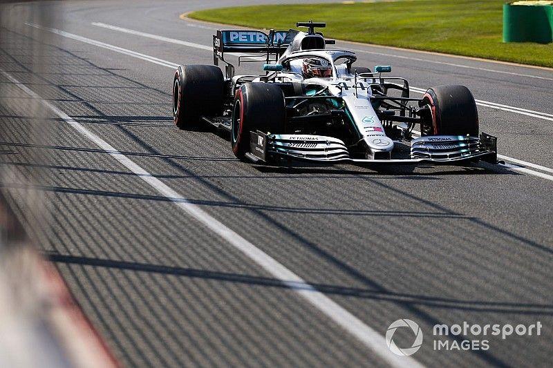 """澳大利亚大奖赛排位赛:汉密尔顿墨尔本""""六连杆"""""""