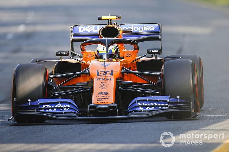 """Norris terughoudend: """"Hoeven McLaren niet altijd in Q3 te verwachten"""""""