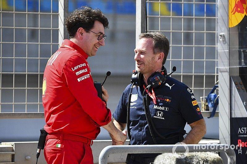 Инженеры Red Bull «отговорили» Ferrari проводить пит-стоп Леклера сразу после выезда машины безопасности