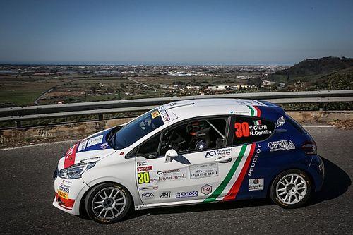 Ciocco, Peugeot 208 Competition Top: a metà gara Guglielmini conduce su Griso