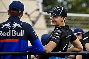 Russell paham tekanan pembalap junior Red Bull