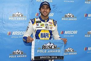 Chase Elliott tops William Byron for Bristol pole