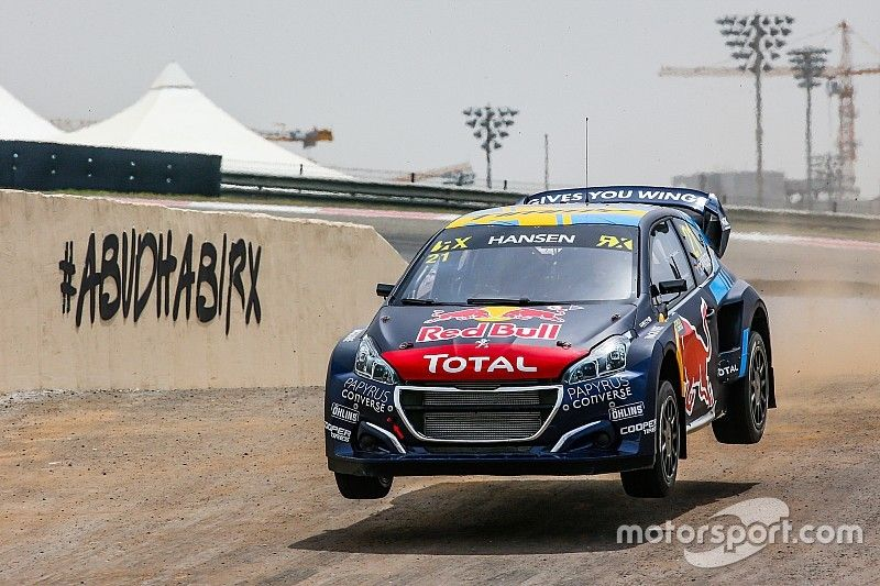 Abu Dhabi World RX: Hansen leads Bakkerud after Q2