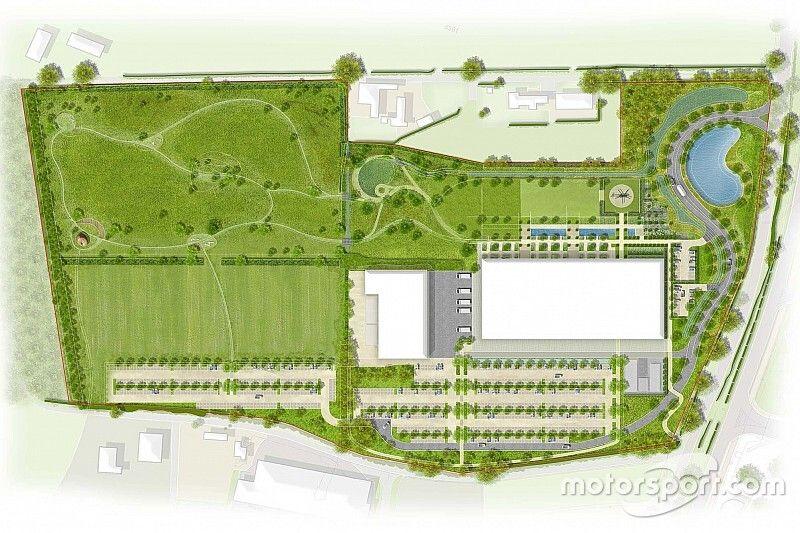 Racing Point recibe el permiso para construir su nueva fábrica