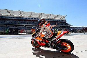 MotoGP Amerika: Warm-up, Marquez di depan Dovizioso