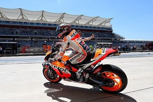 Austin MotoGP ısınma turları: Marquez, Dovizioso'nun önünde lider