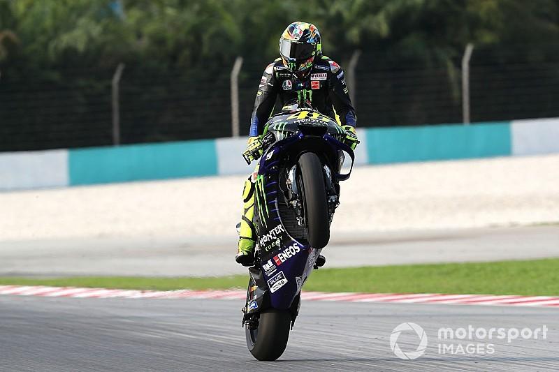 Rengeteg látványos kép a MotoGP tesztjéről: Rossi, Marquez, Dovizioso...