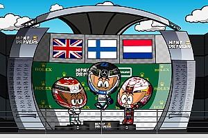 Video: el GP de Australia de F1 según los MiniDrivers