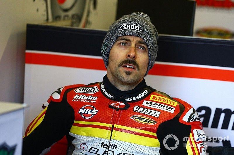 Laverty breaks both wrists in Imola practice crash