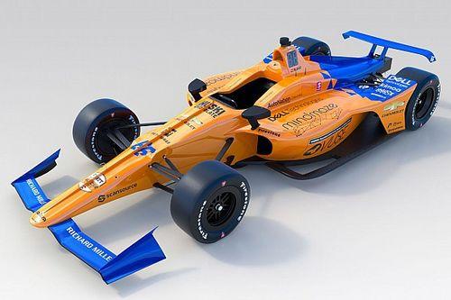 مكلارين تكشف عن سيارة ألونسو التي سيخوض بها سباق إندي 500