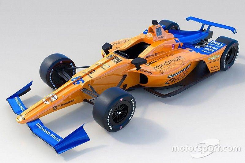 McLaren pamerkan livery Indy 500 untuk Alonso