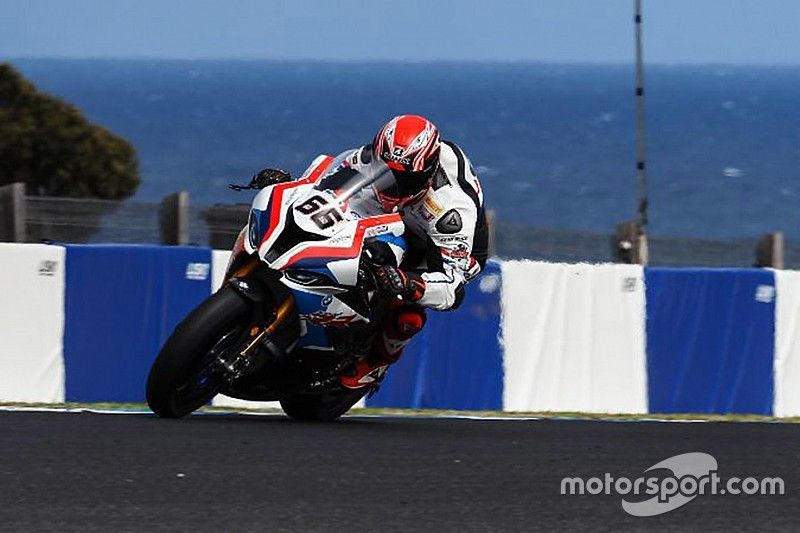 """Sykes """"pleasantly surprised"""" by BMW test pace"""