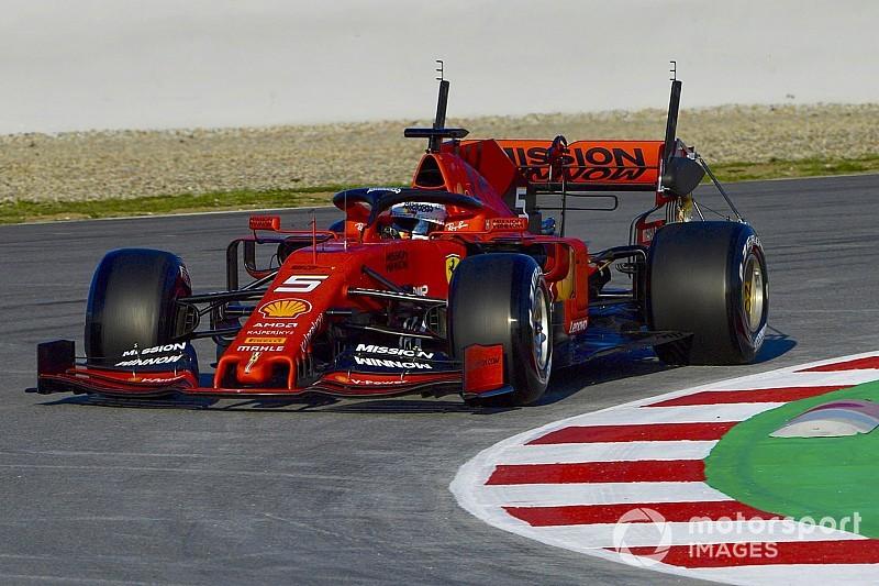2019 Barcelona testi 1. gün: Vettel hızlı başladı, Sainz ikinci!