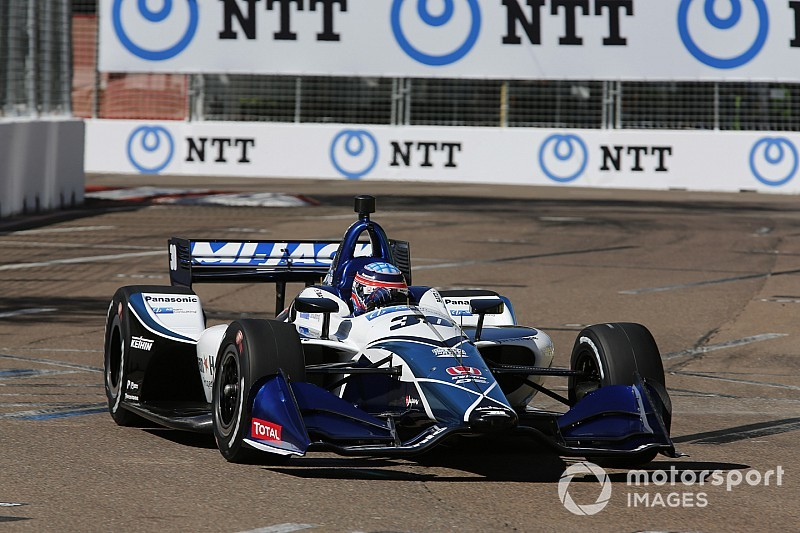 St. Petersburg IndyCar: RLLR cars go 1-2 in warm-up