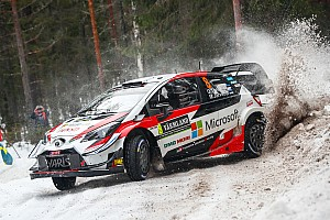 Sweden WRC: Tanak leads, Gronholm drops out