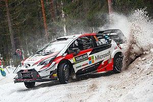 Tanak se coloca al frente del Rally de Suecia en la primera mañana